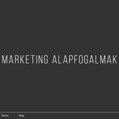 Online marketing alapfogalmak